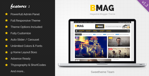 Premium blogger template free download archives guidepedia free download bmag v133 magazine responsive blogger template maxwellsz